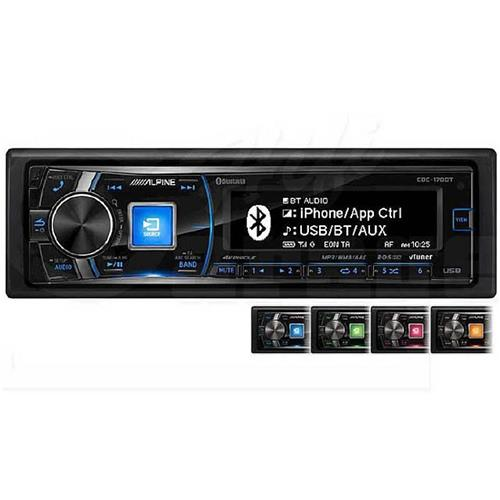 autoradio alpine cde 178bt sintocd usb aux mp3 usb post bluetooth 4x50w 3 pr ebay. Black Bedroom Furniture Sets. Home Design Ideas