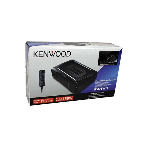 subwoofer kenwood ksc sw11 sottosedile 150 w attivo. Black Bedroom Furniture Sets. Home Design Ideas