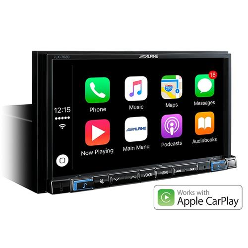 alpine ilx 702d monitor wvga apple carplay e android auto alpine italia ebay. Black Bedroom Furniture Sets. Home Design Ideas