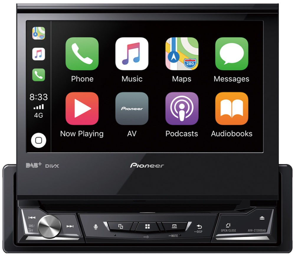 pioneer avh z7200dab autoradio 1 din con apple carplay android auto dab dab ebay. Black Bedroom Furniture Sets. Home Design Ideas