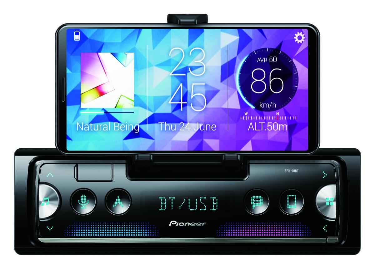 pioneer sph 10bt ricevitore per smartphone autoradio smart. Black Bedroom Furniture Sets. Home Design Ideas