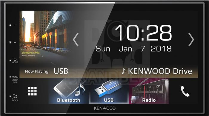 Kenwood DMX7018DABS autoradio 2 DIN con DAB+ / Android Auto e Apple  carplay, Spotify, Bluetooth