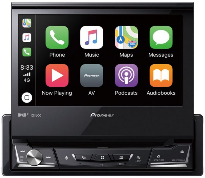 Pioneer Avh Z7200dab Autoradio 1 Din Con Apple Carplay Android Aut