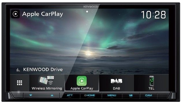 Kenwood DMX8019DABS monitor 2 DIN con radio DAB, Bluetooth, Spotify,  Wireless CarPlay, Android Auto