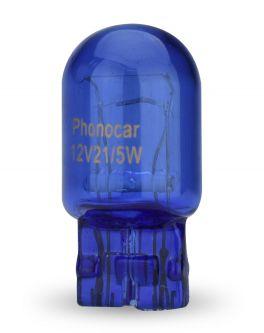 Phonocar 07176 lampade alogene T20 serie Superwhite con attacco W21W T20 Bulb 5000K 5/21W