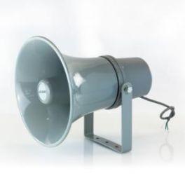 Tromba in alluminio 100V con unità driver 20W RMS Master Audio HS1015