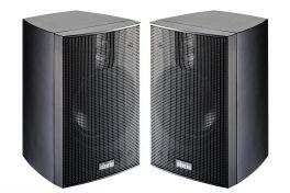 Indiana Line NANO.2 coppia Diffusori acustici bass-reflex (NERO)