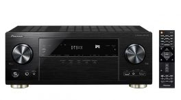 Pioneer VSX-1131-B  Sintoamplificatore a 7.2 canali con 7x160 Watt, streaming, Ultra HD 4K, Wi-Fi e Bluetooth PIONEER ITALIA