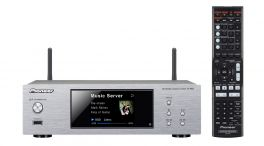 "Pioneer N-P01-S Sistema Pure Compact Display LCD 3,5"" Wi-Fi e Bluetooth integrato con Apt X Airplay Ingresso USB PIONEER ITALIA"