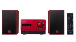 Pioneer X-CM35-R Micro Hi-Fi diffusori 2 vie 15W+15W  Bluetooth