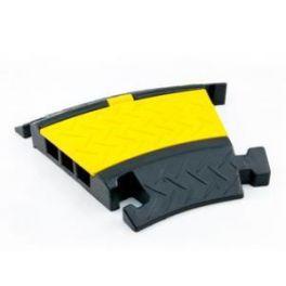 Pedana proteggi cavo Master Audio CP4 ad angolo da 30°  4 canali