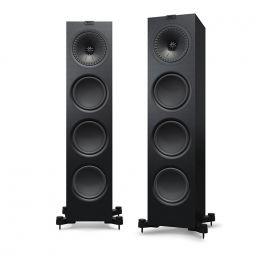 KEF Q950 Diffusori da pavimento High End NERO Black Ash Vinyl 200W (COPPIA)