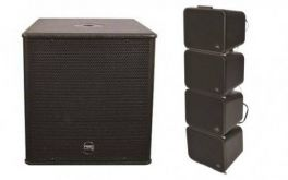FIVE0 GS1 + SUB DF12A BY MONTARBO LINE ARRAY ATTIVO 300W RMS