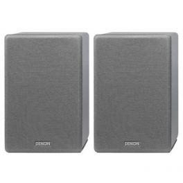 Denon SC-N10 Diffusori Hi-Fi con woofer da 120 mm 2 x 80W Colore grigio COPPIA