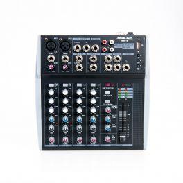 Master Audio MM810 Mixer compatto 2 canali MONO + 2 canali STEREO  e ingresso USB