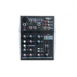 Master Audio MM510 Mixer 1 canale MONO + 2 canali STEREO e ingresso USB