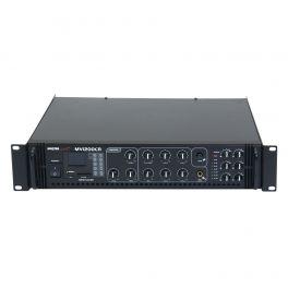Amplificatore filodiffusione 6 zone a 100V 4/16 ohm Master Audio MV1200CR + lettore MP3 e radio FM