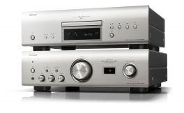 DENON PMA-1600NE + DCD-1600NE Amplificatore integrato + Lettore CD, SILVER