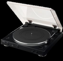 DENON DP-200USB Giradischi automatico con USB, trasforma tracce in MP3! NERO -  GAR. ITALIA