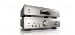 Denon PMA-800NE + DCD-800NE Amplificatore integrato + Lettore CD HIGH END, SILVER