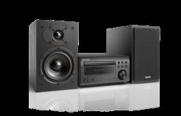 DENON D-M41DAB Sistema Micro HiFi con sintoamplificatore RCD-M41DAB + diffusori SC-M41, NERO/NERO