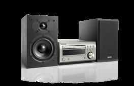 DENON D-M41DAB Sistema Micro HiFi con sintoamplificatore RCD-M41DAB + diffusori SCM41, NERO/SILVER