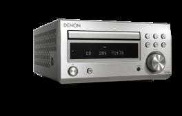 DENON RCD-M41DAB SILVER Sintoamplificatore Micro HiFi con CD, Bluetooth e Radio FM/DAB/DAB+