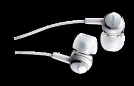 DENON AH-C260 Cuffia stereo In-Ear con ottimizzatore acustico, SILVER