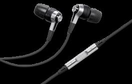 DENON AH-C621R Cuffia stereo In-Ear con ottimizzatore acustico, NERO