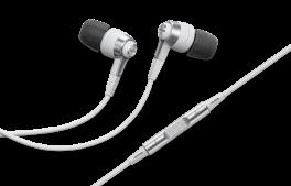 DENON AH-C621R Cuffia stereo In-Ear con ottimizzatore acustico, BIANCO
