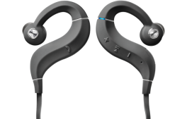 DENON AH-C160W Cuffie In-Ear Wireless con ottimizzatore acustico e amplificatore interno, NERO