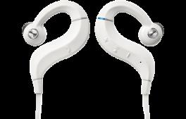 DENON AH-C160W Cuffie In-Ear Wireless con ottimizzatore acustico e amplificatore interno, BIANCO