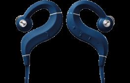 DENON AH-C160W Cuffie In-Ear Wireless con ottimizzatore acustico e amplificatore interno, BLU