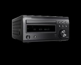DENON RCD-M41 Sintoamplificatore Micro HiFi con CD, Bluetooth e Radio,NERO
