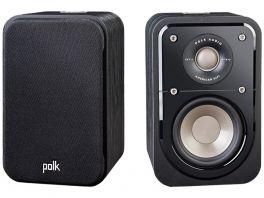 POLK AUDIO S10e Diffusori bookshelf a 2 vie bass reflex COPPIA, NERO