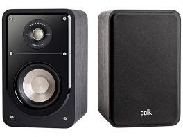 POLK AUDIO S15e Diffusori bookshelf a 2 vie bass reflex COPPIA, NERO