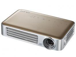 VIVITEK Qumi Q6  Videoproiettore WiFi Tascabile LED DLP WXGA, 1280x720, 800 Lumen - ORO
