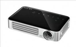 VIVITEK Qumi Q8 Videoproiettore Tascabile 3D LED DLP 1080P, 1.920x1.800, 1.000 Lumen - NERO