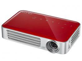 VIVITEK Qumi Q6  Videoproiettore WiFi Tascabile LED DLP WXGA, 1280x720, 800 Lumen - ROSSO