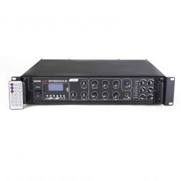 Master Audio MV8300CA-BT Amplificatore mixer PA a 100V 6 zone con Bluetooth, Mp3 USB