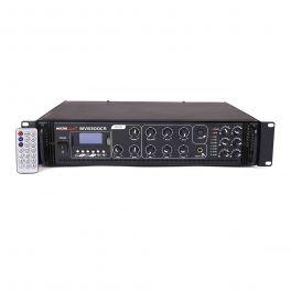 Master Audio MV6300CR Amplificatore Bluetooth filodiffusione 6 ZONE 100V / 8 ohm con MP3 e radio FM