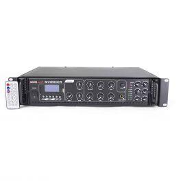 Master Audio MV1200CR Amplificatore filodiffusione BLUETOOTH a 6 zone a 100V 4/16 ohm con USB, MP3 e radio FM