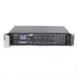 Master Audio MV1100CR-BT Amplimixer 6 ZONE con Bluetooth 100 Volts / 8 ohm mixer PA con MP3 e radio FM