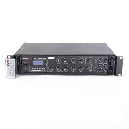 Master Audio MV1100CA-BT Amplimixer 6 ZONE con Bluetooth 100 Volts / 8 ohm mixer PA con MP3
