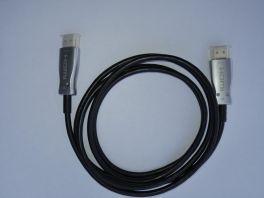 DigiClear Cavo HDMI Fibra Ottica 18Gbps 4:4:4 60p, compatibile SkyQ 4K, Apple TV 4K