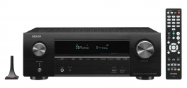 Denon AVR-X1600H DAB sintoamplificatore HOME CINEMA 7.2 canali 4K Ultra HD con Audio 3D e HEOS Built-in®