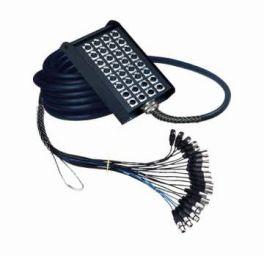 Stage box SSC168/25 Master Audio 16 prese + 8 spine da pannello XLR