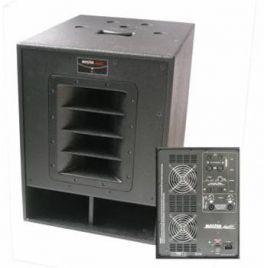 Master Audio SUB215 Subwoofer amplificato + amplificatore per satelliti passivi SUB215