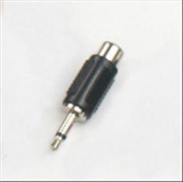 Adattatore presa RCA - spina mini Jack 3,5 mm mono in ABS e metallo HY1721 Master Audio