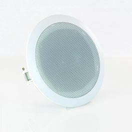Master Audio S130NW Diffusore 100V in ABS da soffitto ad incasso 130mm